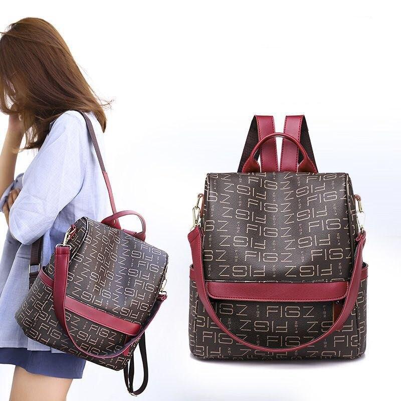 Фото - Модный дизайнерский женский рюкзак 2020, высококачественный кожаный рюкзак для подростков, студенческий рюкзак для девочек, рюкзак, рюкзак рюкзак