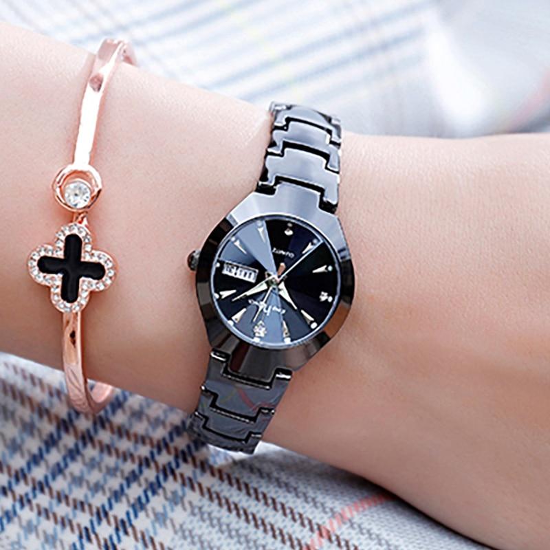 KEEP IN TOUCH Fashion Watch Women Watches Ladies Stainless Steel Women's Bracelet Watches And Week Calendar Relogio Feminino