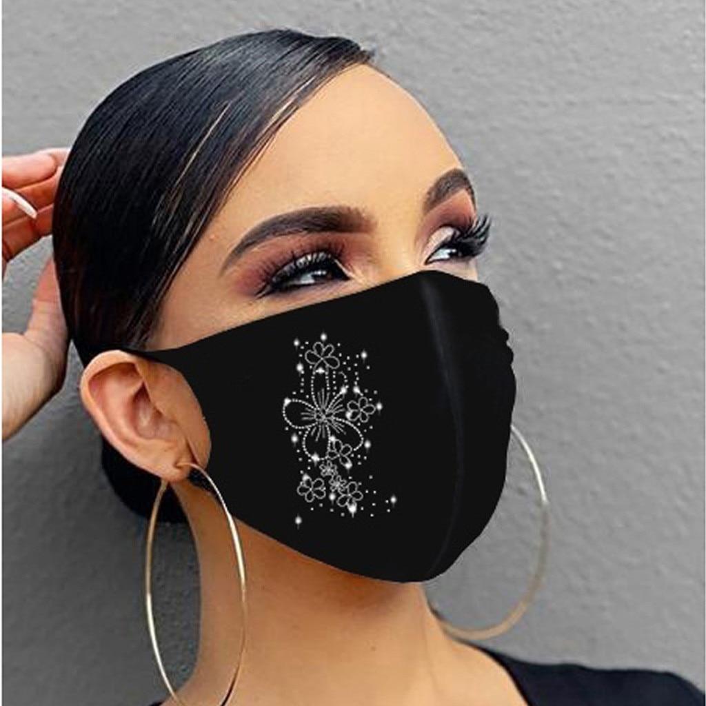 Maskë për maskara kristali zonjat e partisë nxehtë diamanti - Bizhuteri të modës - Foto 6