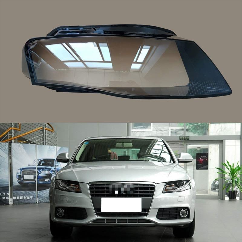 for Audi A4L head lampshade A4LB8 transparent glass head lampshade shell surface 2009-2012