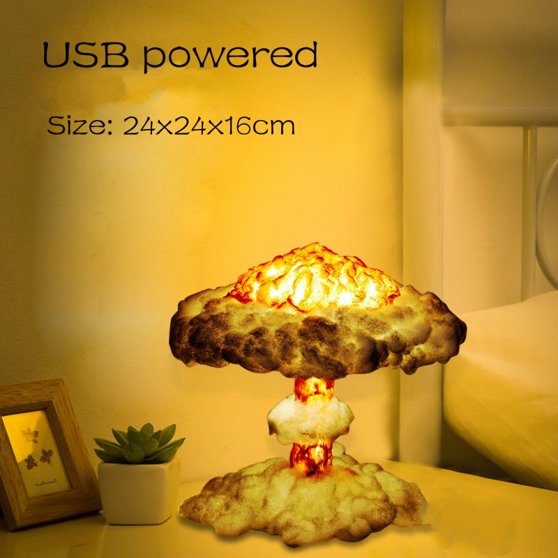 New Dropship Mushroom Gloud Lamp With Cotton USB Dimmable Night Light As Children's Gifts Room Decoration Night Lamps Lighting 2019 new arrival dropship hot dragon egg night light as gift for night lamp in room light