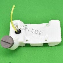 Cortador de escova tanque de combustível com tampa & filtro de mangueira para efco OLEO-MAC sparta 36 37 38 41 42 43 44 emak 436 aparador de grama oem 61330135r