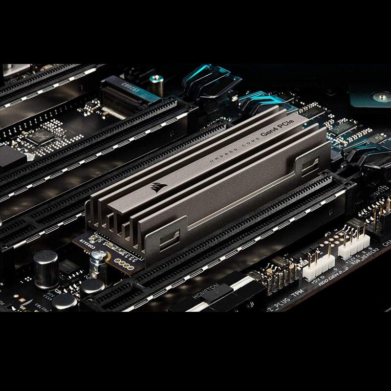 Corsair MP600 CORE 1TB 2TB M.2 NVMe PCIe x4 Gen4 SSD High-Speed Interface, 3D QLC NAND, Built-in Heatspreader) Aluminum enlarge
