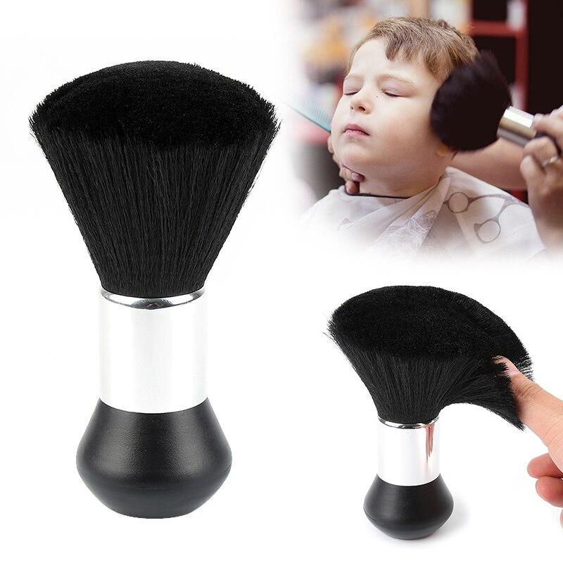 1 ud. Cepillo de plumero para cuello de barbero, cepillo suave para peluquero, cepillo de plástico para peluquero, herramientas de estilismo