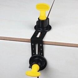 25 pces masculino ângulo ferramenta de nivelamento telha sistema nivelador para telhas de parede piso ângulo direito ajuste lacuna ferramenta de construção