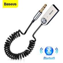Baseus Aux Bluetooth adaptörü Dongle kablosu için araba 3.5mm Jack Aux Bluetooth 5.0 4.2 4.0 alıcı hoparlör ses müzik verici