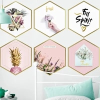 3d photo frame wall sticker home decoration self adhesive nordic style wall decal for living room