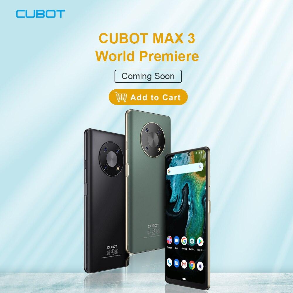 Перейти на Алиэкспресс и купить Смартфон Cubot MAX 3, 6,95 дюйма, большой экран, планшетофон, скоро