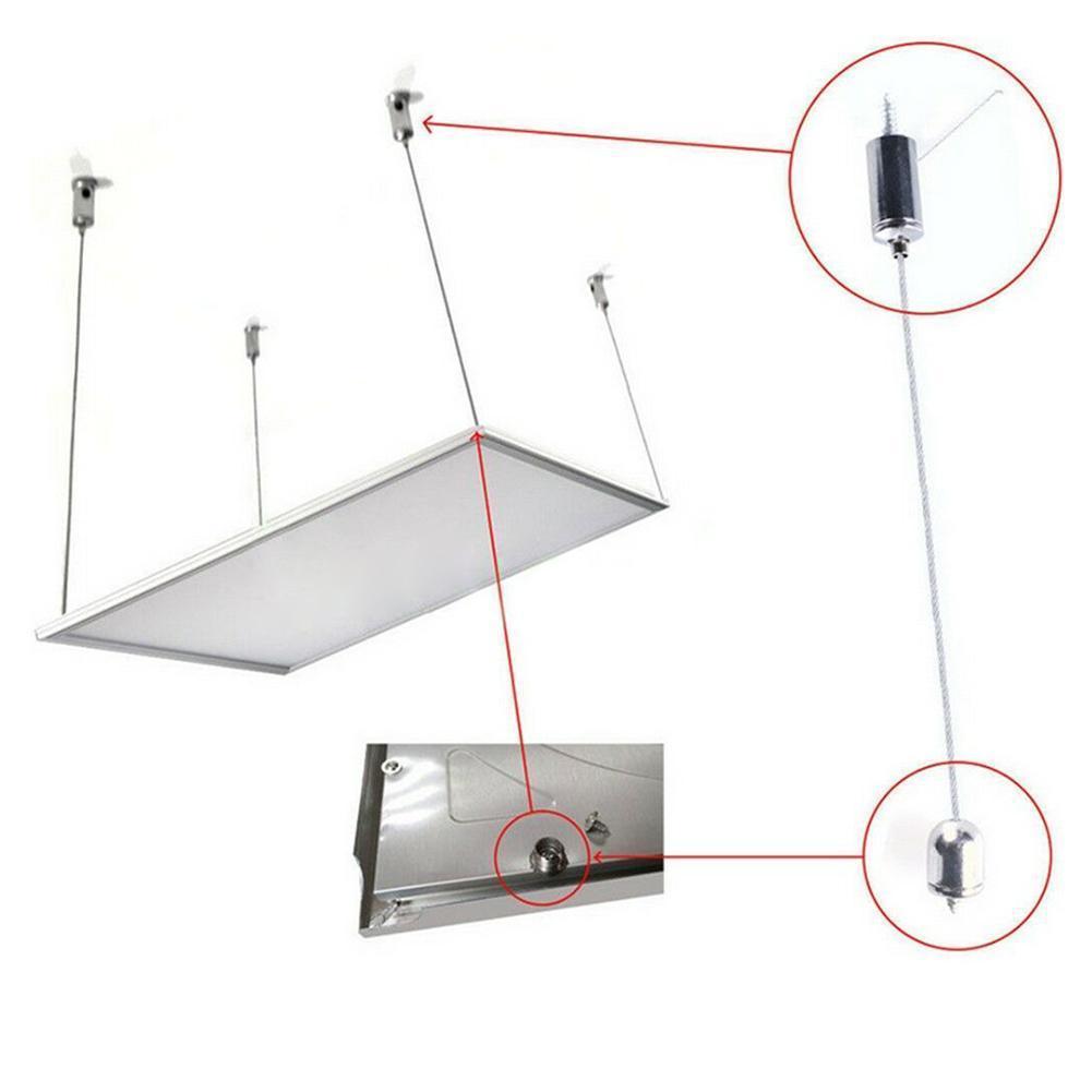 Лампа подвесная веревка плоская лампа люминесцентная лампа подвесная проволока телескопическая проволока подвесные аксессуары Регулируе...
