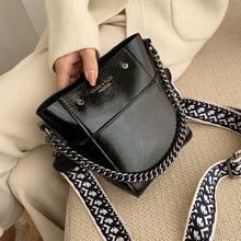 PU Leather Crossbody Bags For Women 2020 Mini Shoulder Messenger Bag Fashion Designer Chain belt  Handbags and Purses lady bag