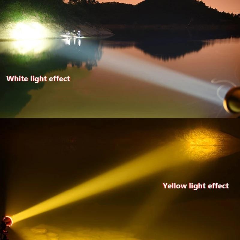 Head Flashlight Cree xhp70 White light or Yellow light Optional Outdoor Hunting Camping Fishing LED Headlamp enlarge