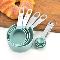 multi purpose spoonscup measuring tools pp baking accessories stainless steelplastic handle kitchen gadgets