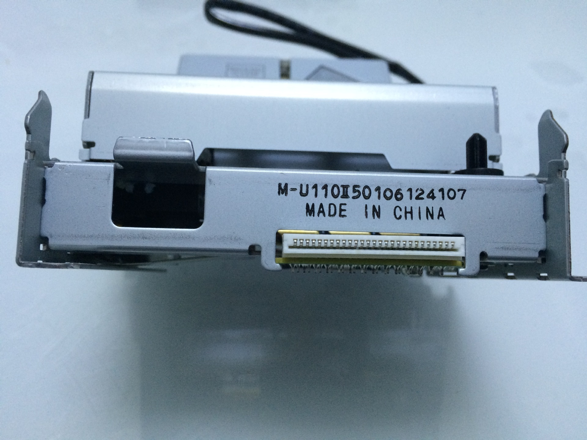 Thermal printer print head For Miniature 76mm dot matrix printer core M-U110II/III bill tax control printer core