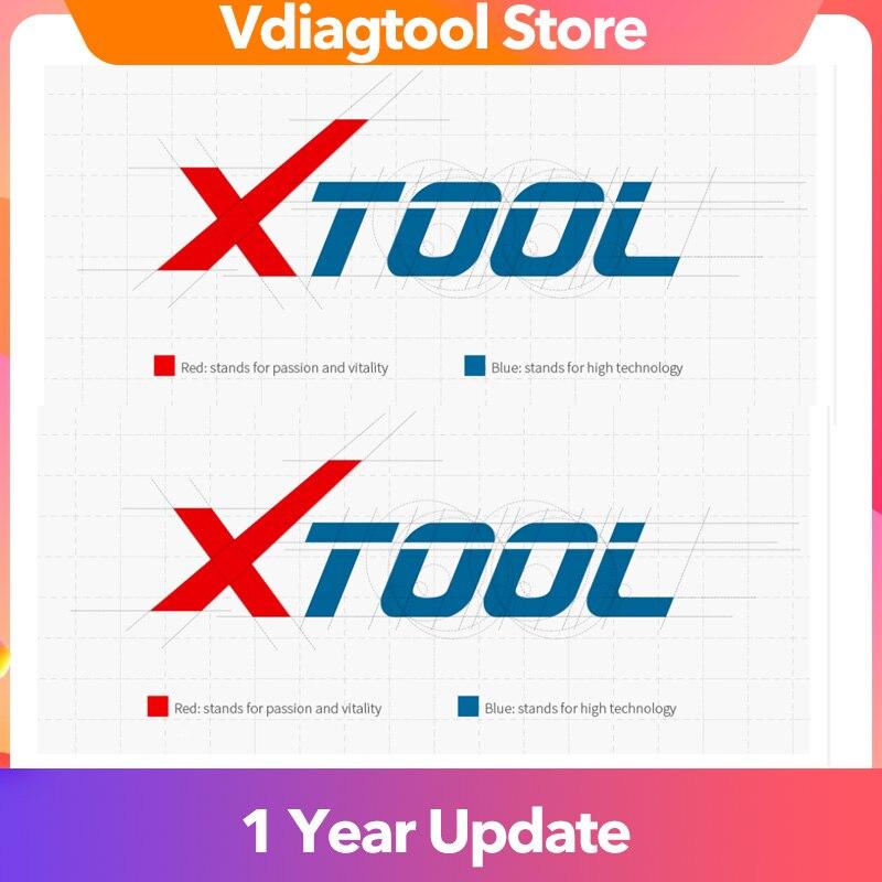 Xtool taxa de atualização taxa para x100 almofada/x100 pad2/x100 pad2 pro/x100 pad3 1 ano atualização mudar idioma envio online