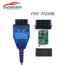 Câble de Diagnostic de voiture USB OBD2   Puce VAG pour Fiat KKL, FTDI FT232RL, outil de Scanner, commutateur 4 voies, Interface USB