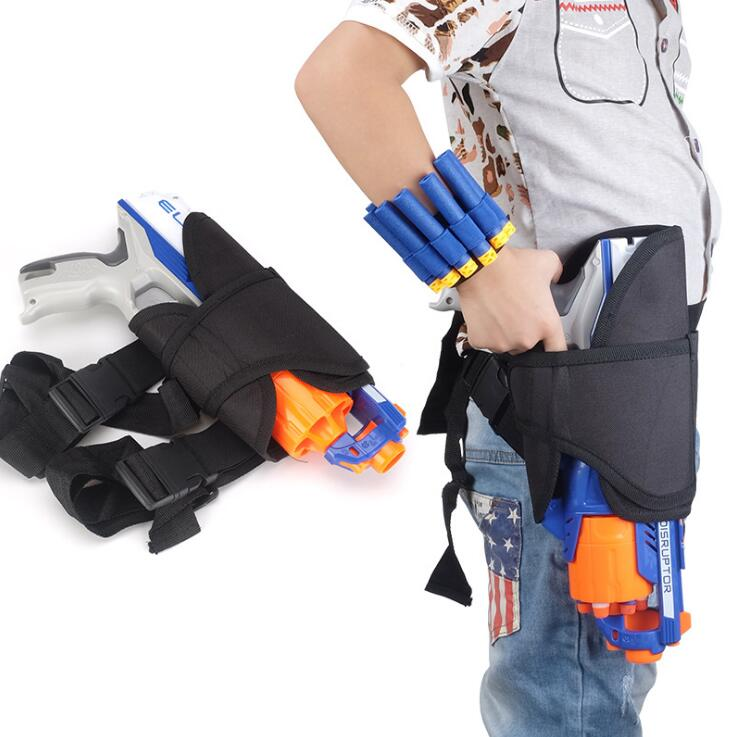 Детская тактическая поясная сумка и дротика для запястья набор для Nerf Guns N-strike Elite Series Blaster