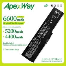 Apexway Laptop batterie für Toshiba PA3817 PA3817U PA3816U PA3818U für Satellite L645 L655 L700 L730 L735 L750 L755 L740 L745