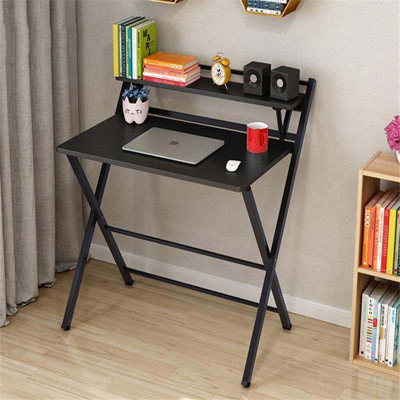 Mesa plegable sencilla Para ordenador, mesa portátil Para Sala De estar, escritorio...