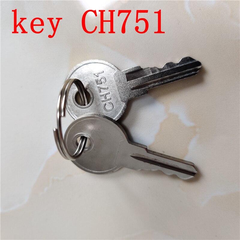 10 Uds envío gratis llave del ascensor CH751 lift Lock