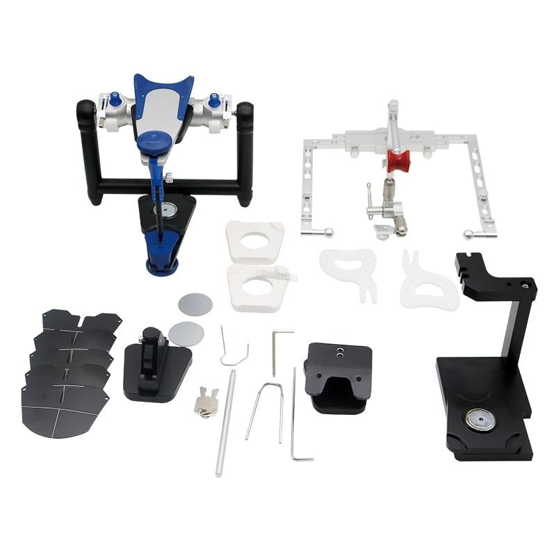 1Set dental Lab articulators Type amann fully adjustable facebows tools device Set
