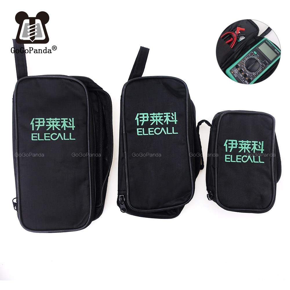 Бесплатная доставка Мини средняя большая сумка для небольших аксессуаров и Midget тестер мультиметров хранения