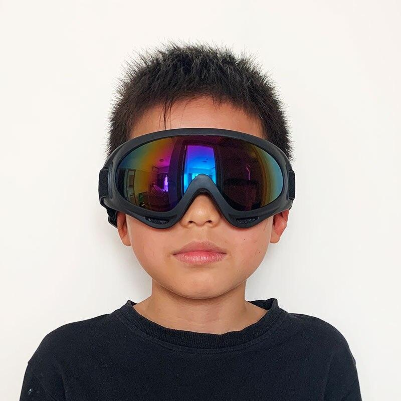 Kids Professional Winter Ski Goggles Ski Snowboard Goggles Sunglasses Eyewear Anti-UV400 Sports Equi