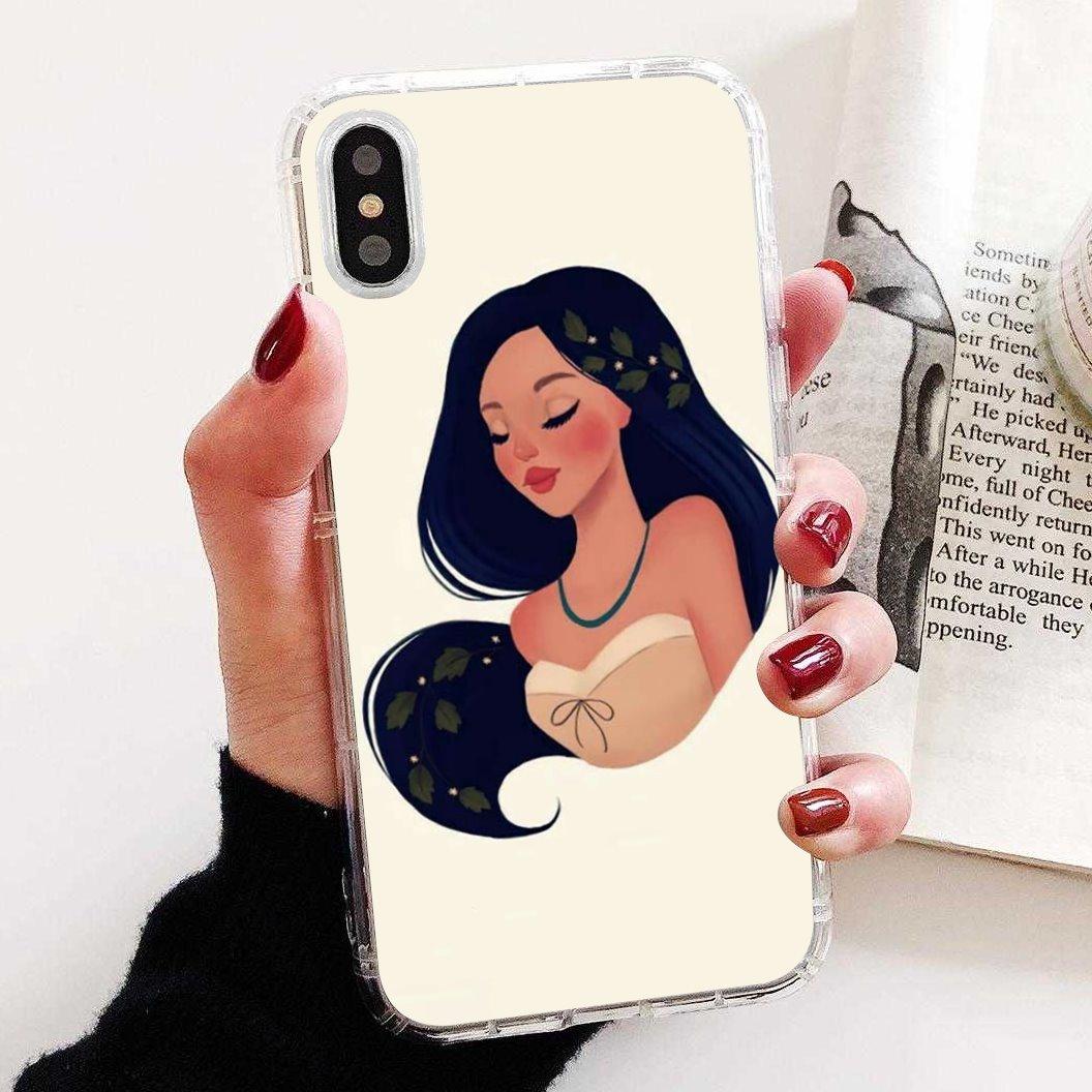 Princesa Alicia de Mulan para Huawei Honor Y5 2018 2019 8S 9X Pro 20 10 10i Lite impresionante funda de teléfono de silicona