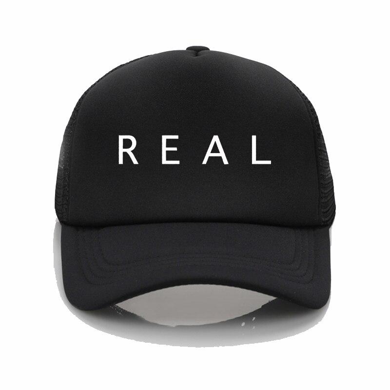NF Real Music czapki baseballowe męskie damskie kapelusz na lato czapka typu Trucker regulowana bejsbolówka czapki graffiti czapka z daszkiem