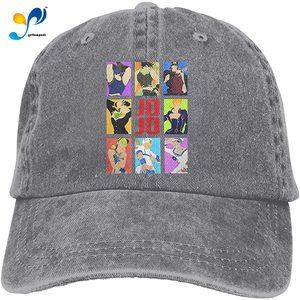 JoJo's Bizarre Adventure Commemorate Casquette Cap Vintage Adjustable Unisex Baseball Hat