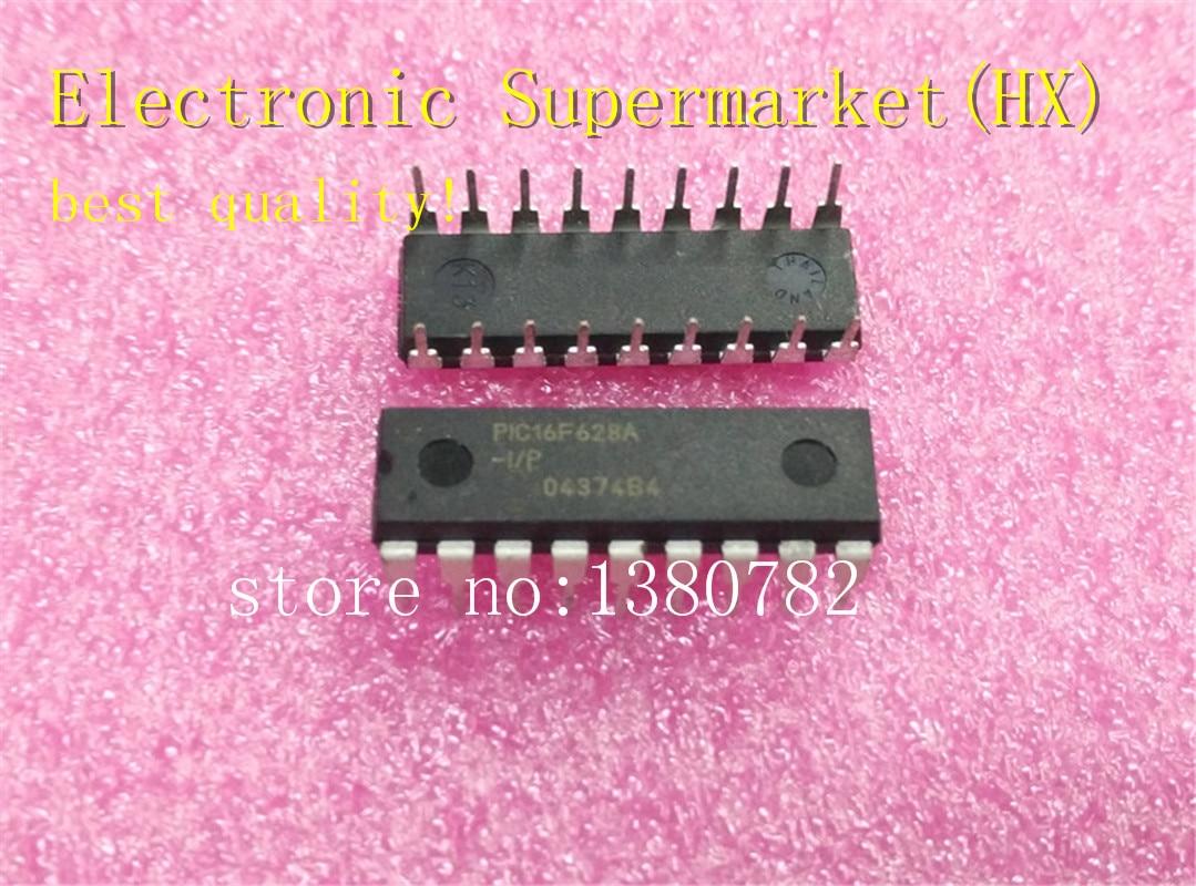 Free Shipping 50pcs/lots PIC16F628A-I/P  PIC16F628A  PIC16F628 16F628A-I/P  DIP-18  100%New original  IC In stock!