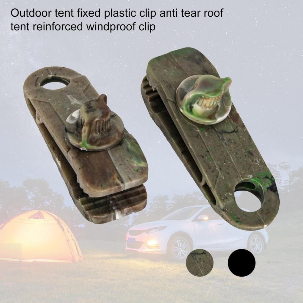 Canopy Tent Clip Tighten Tear Resistance Plastic Grip Windproof Awning Clamp for Outdoor Canopy Tent Clip