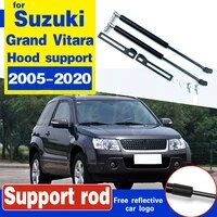 for suzuki grand vitara 2005 2020 2pcs car front engine cover bonnet hood shock lift struts bar support rod arm gas spring