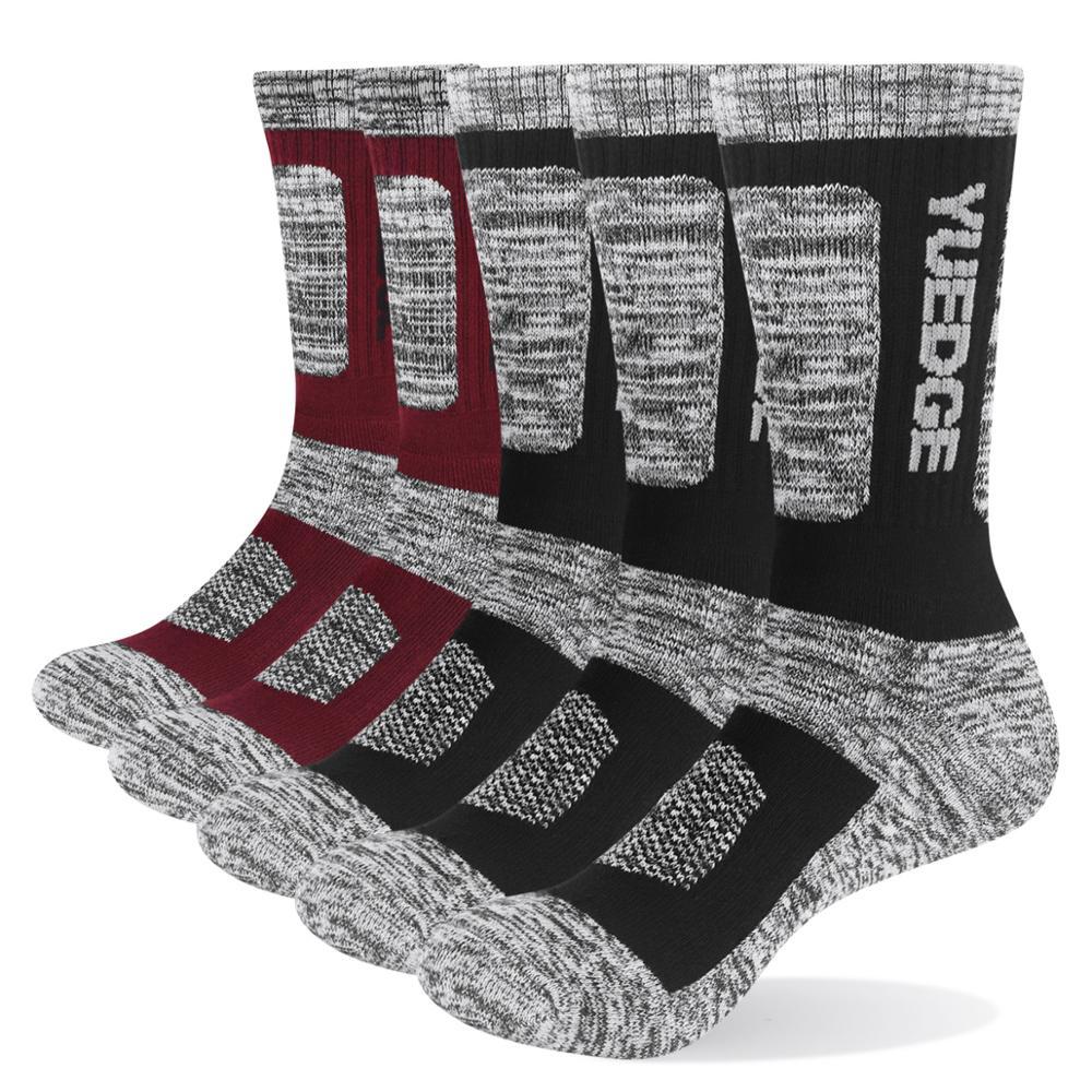 Yuedge-calcetines Trmicos De Felpa De algodón seré Para Hombre... Medias Transpirables Para Deportes De Equipo De Senderismo Sra