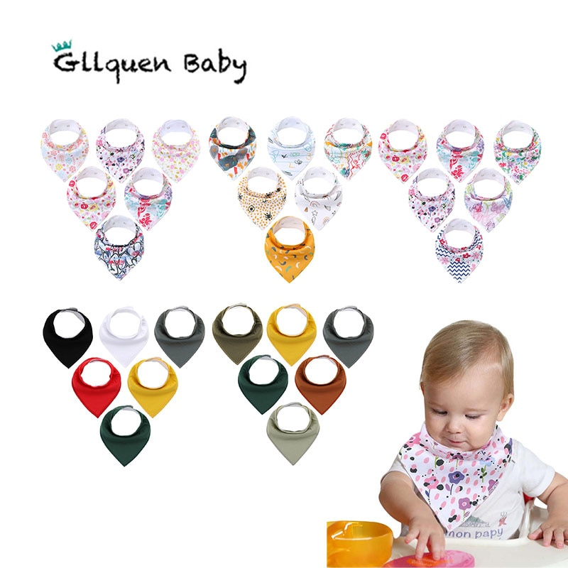 Baby Bandana Drool Bibst  Super Absorbent Bibs for Drooling and Teething Organic Cotton Drool Bibs for infant baby bandana bibs with teething toys 100% organic cotton bibs super absorbent drool bib with teether for boys