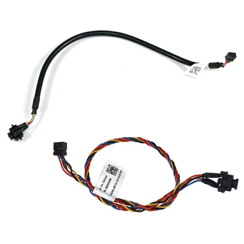 1 Uds Cable de ordenador para Dell Optiplex 390, 790, 990, 3010, 7010, 9010 085DX6 85DX6 interruptor de encendido de Cable
