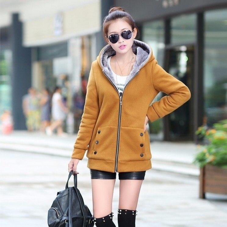 2018 primavera otoño chaquetas de talla grande 7 colores chaqueta Casual abrigo de lana chaquetas con capucha ropa de calle