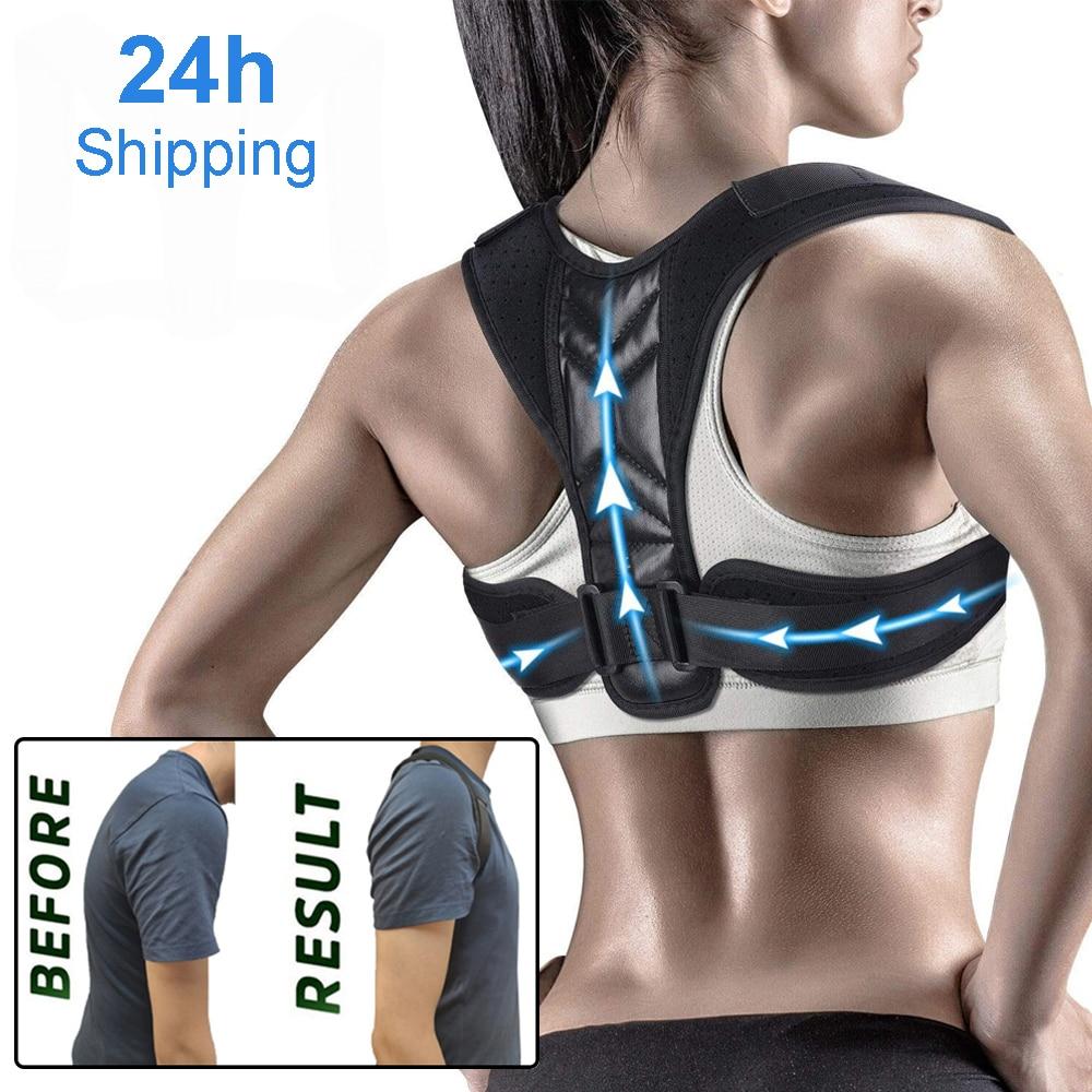 Adjustable Posture Corrector Preventing Humpback Protection Spine Pain Relief Correction Belt Women