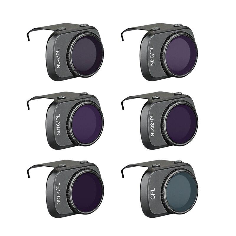 Mavic mini filtro para Dron ND-PL filtro ajustable CPL ND8 ND16 ND32 ND64 PL para dji mavic mini accesorios de Dron