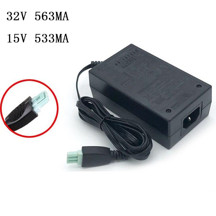محول طاقة الطابعة 32V-563MA 15V-533MA ، سلك طاقة الطابعة HP D2368 0957-2119