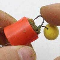 1 шт. эксплозионные Крючки набор рыболовных крючков на открытом воздухе клетка держатель корзины-кормушки рыболовный крючок инструмент рыб...