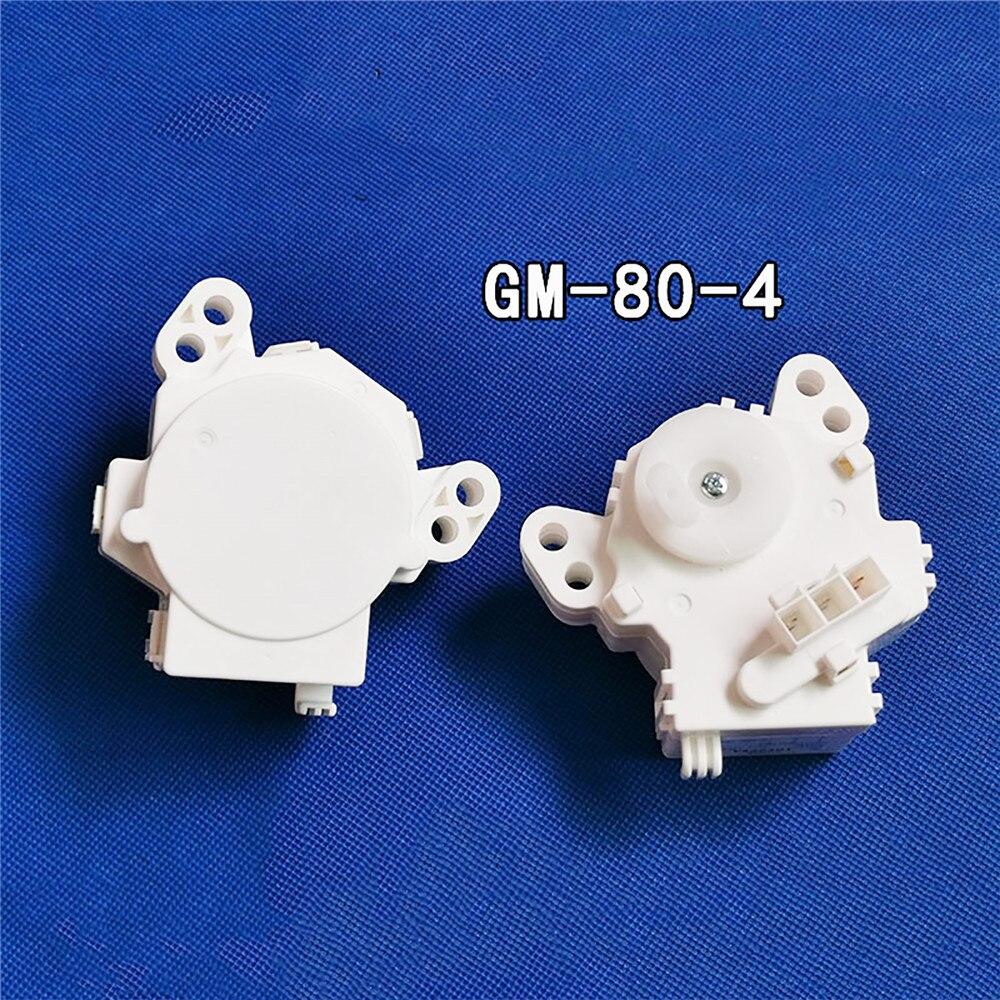 1PC Washing Machine Drain Valve Motor Clutch Drainage Tractor GM-80-4 for Toshiba XQB70-EFRK Washing Machine Repair Parts