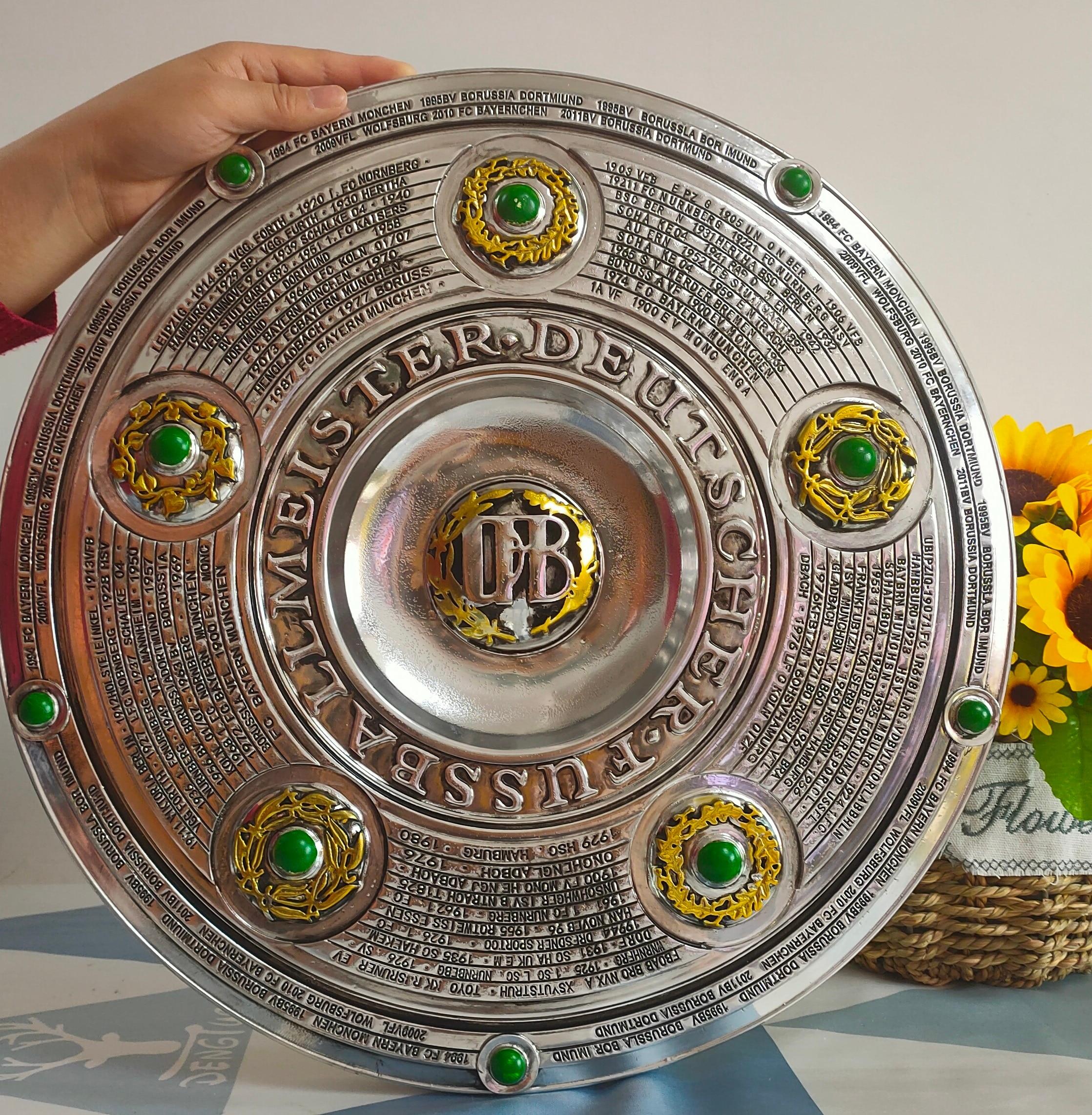 The Bundesliga Trophy Diameter 43 cm The Bundesliga Champions Trophy Cup Soccer Trophy Cup