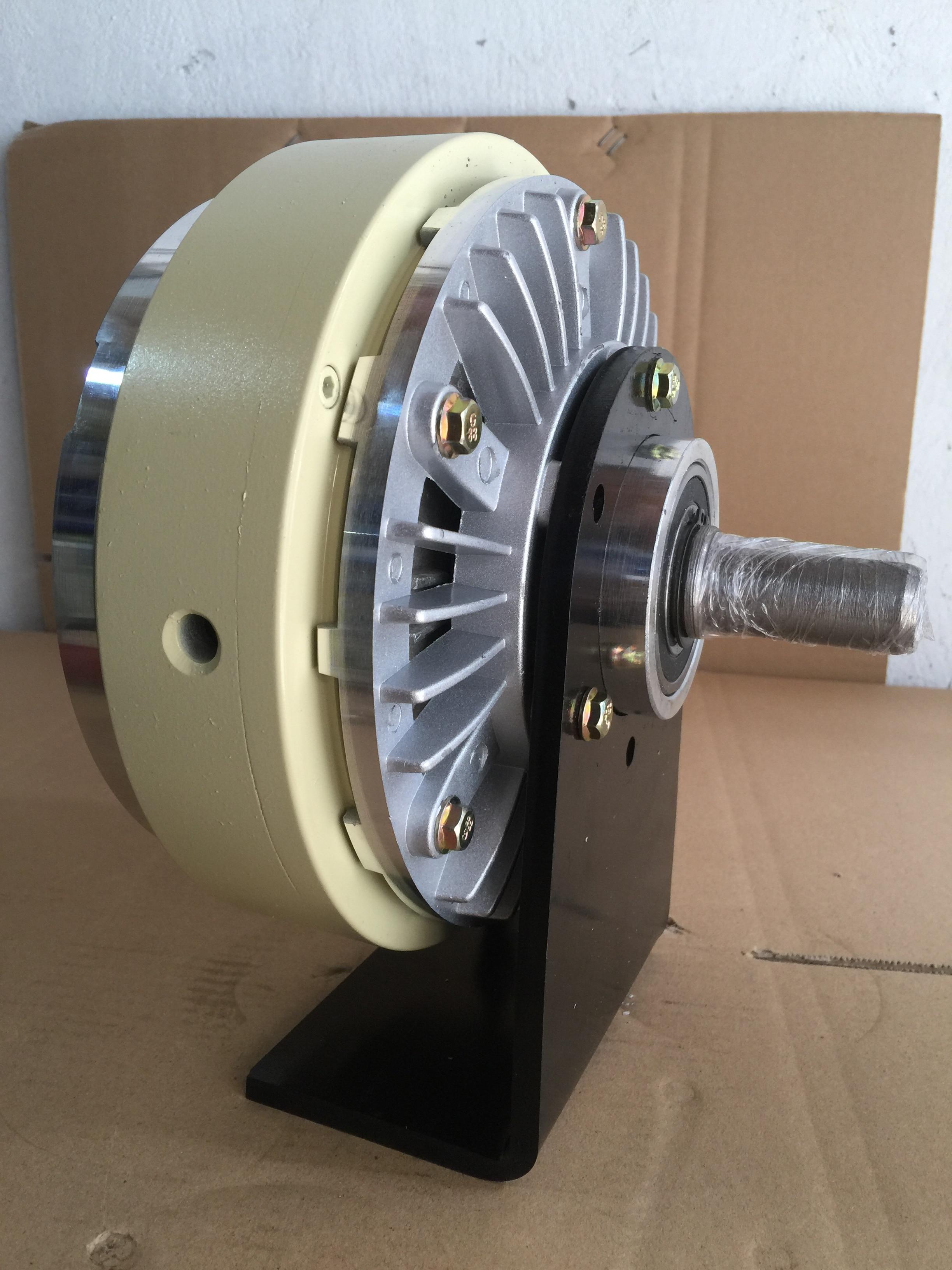 Magnetic Powder Brake Bracket Clutch Bracket Tension Single-axis Dual-axis 24V Magnetic Powder Clutch Magnetic Powder Brake