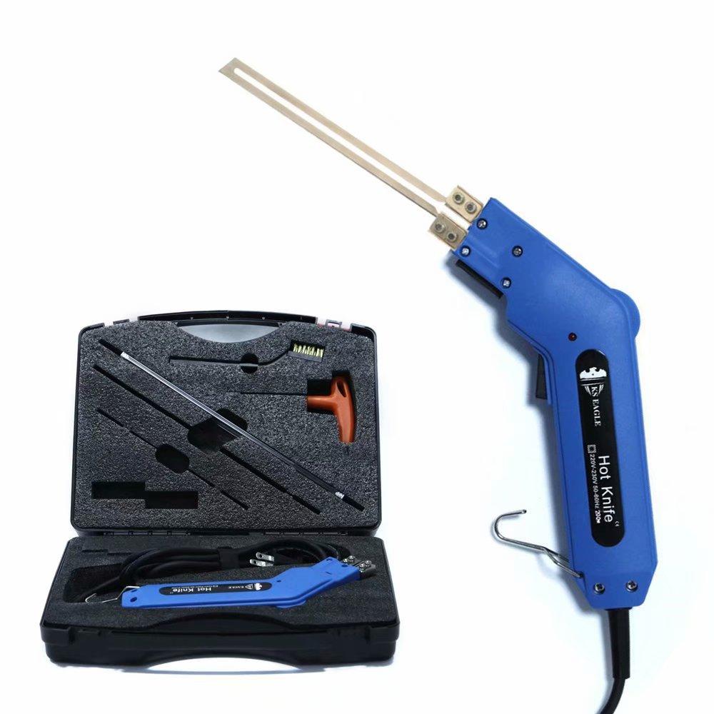 KS EAGLE-سكين تقطيع كهربائي يدوي ، لوح بثق بلاستيك رغوي ، سكين قطع حراري 200 وات