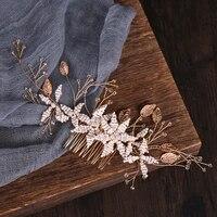 wedding headdress jewelry hair combs bridal headdress pearl accessories pearl hair accessories for gift ornaments tiara