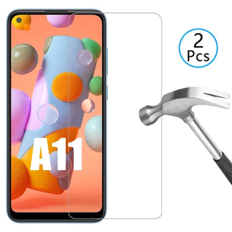 Фото - 2 шт. 9h Защитное стекло для Samsung A11 Galaxy a 11, Защитное стекло для телефона samsung galaxy a11, защитное закаленное стекло защитное стекло