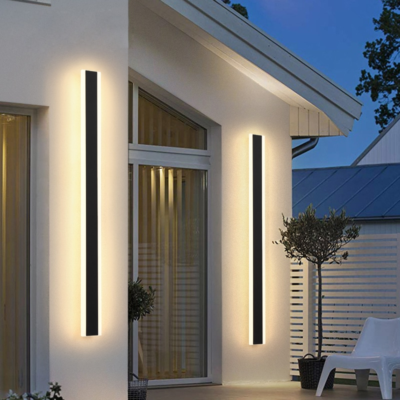 Modern Surface Mounted Acrylic LED Wall Lights For Bedside Porch Bathroom Mirror Indoor Outdoor Home wandlamp Lighting Fixture