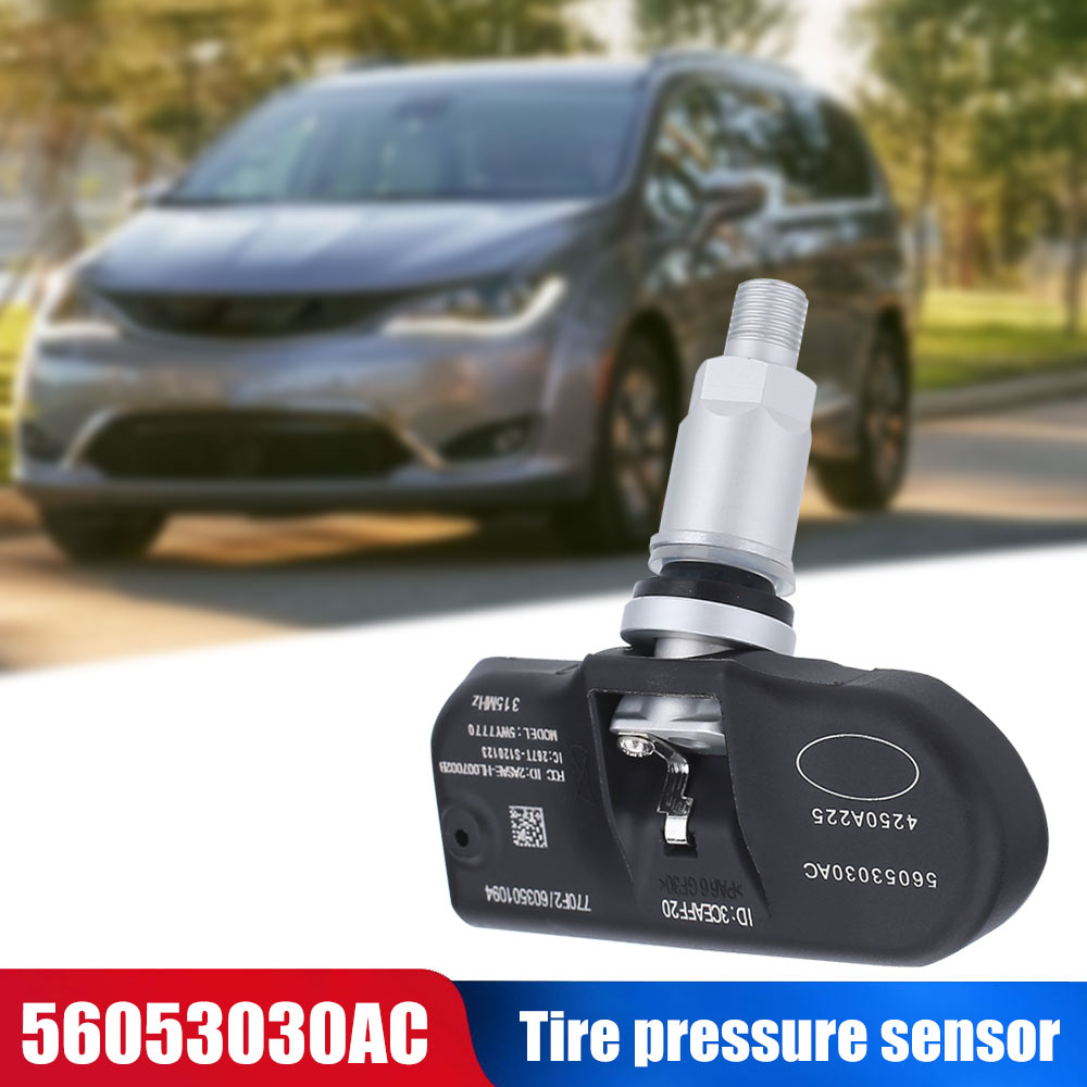 Vehemo-capteur de pression pour pneu   TPMS 56053030AC pour le contrôle des pneus Dodge, accessoires de voiture à basse énergie 68001696AA