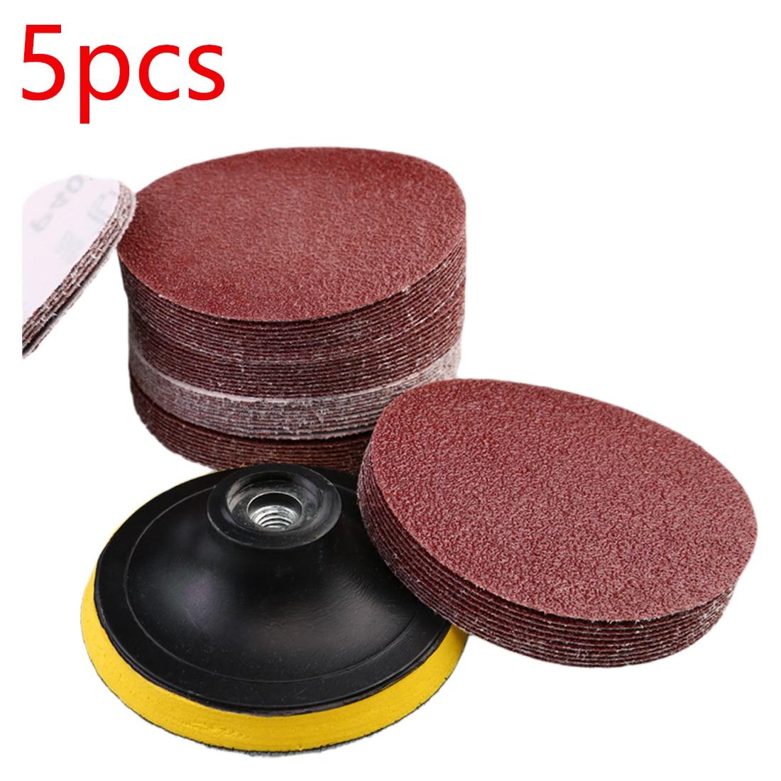 Шлифовальный диск с крючком для шлифовальной машины, красные полировальные диски, круглые шлифовальные диски, шлифовальные листы, низкая ц...