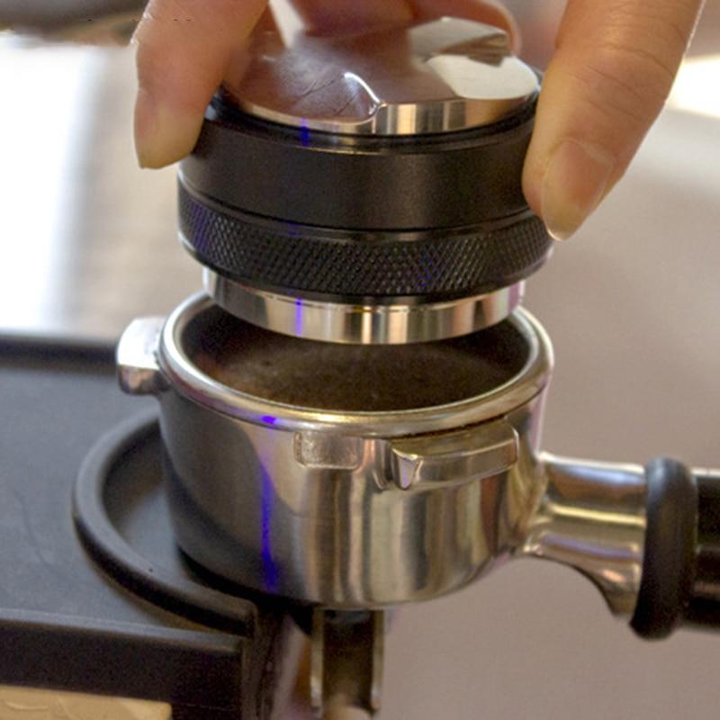 موزع قهوة إسبرسو 53 مللي متر ، أداة توزيع إسبرسو ، تسوية قهوة مناسبة لـ Portafilter LXY9 54 مللي متر